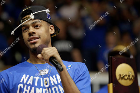 Quinn Cook Duke's Quinn Cook addresses the crowd during a homecoming celebration as the Duke basketball team are welcomed at Cameron Indoor Stadium in Durham, N.C. Duke defeated Wisconsin Monday night in the NCAA Final Four tournament championship game