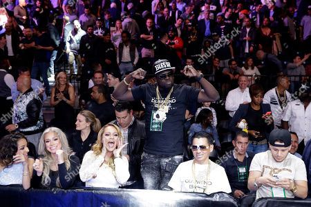 Danny Garcia, Lamont Peterson Danny Garcia fans cheer after Garcial defeated Lamont Peterson in a super lightweight boxing match, in New York. Garcia won by a majority decision