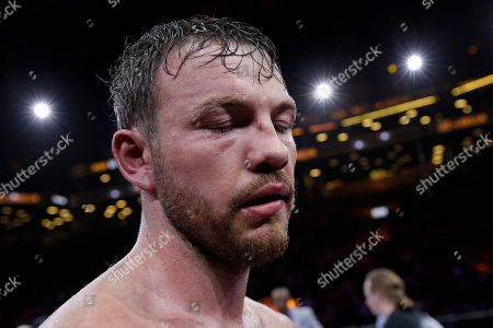 Andy Lee Andy Lee face is covered in welts at the end of a middleweight title boxing match against Peter Quillin, in New York. The match ended in a draw. The match ended in a draw