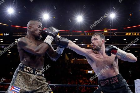 Peter Quillin, Andy Lee Andy Lee, right, punches Peter Quillin in the 12th round during a middleweight title boxing match, in New York. The match ended in a draw. The match ended in a draw