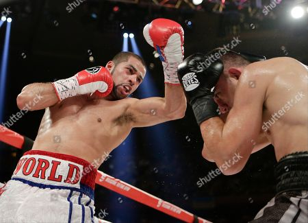 Sadam Ali Sadam Ali, left, punches Francisco Santana during the fifth round of a boxing bout, at Madison Square Garden in New York. Ali won the fight