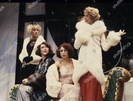 'The Women' - Georgina Hale (Crystal), Maria Aitken (Sylvia), Patti Love (Miriam), Susannah York (Mary)