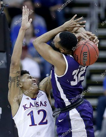 Kelly Oubre Jr Kansas' Kelly Oubre Jr. (12) knocks the ball loose from TCU's Trey Zeigler (32) during the second half of an NCAA college basketball game in the quarterfinals of the Big 12 Conference tournament, in Kansas City, Mo. Kansas won 64-59