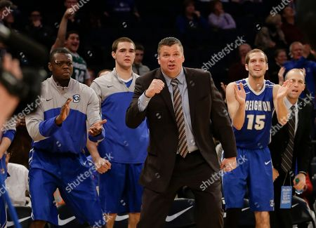 Jim Flanery Creighton head coach Jim Flanery reacts to a play by James Milliken during the second half of an NCAA college basketball game against DePaul in the first round of the Big East Conference tournament, in New York. Creighton won the game 78-63