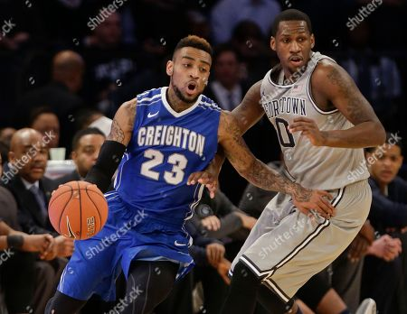 James Milliken Creighton's James Milliken (23) drives past Georgetown's L.J. Peak (0) during the first half of an NCAA college basketball game in the in the quarterfinals of the Big East Conference tournament, in New York