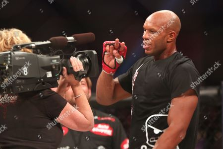 Linton Vassell Linton Vassell celebrates a win against Rameau Thierry Sokoudjou during their fight at Bellator 134, in Uncasville, CT. Vassell won the fight in the second round via unanswered strikes