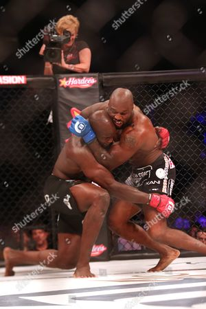 KIng Mo, Cheick Kongo King Mo, right, in action against Cheick Kongo during their fight at Bellator 134, in Uncasville, CT. King Mo won via split decision