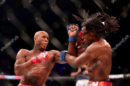 Rameau Thierry Sokoudjou, Linton Vassell Linton Vassell, left, in action against Rameau Thierry Sokoudjou during their fight at Bellator 134, in Uncasville, CT. Vassell won the fight in the second round via unanswered strikes