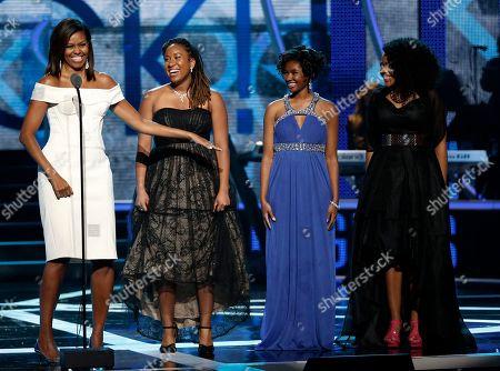 Editorial photo of Black Girls Rock Obama, Newark, USA