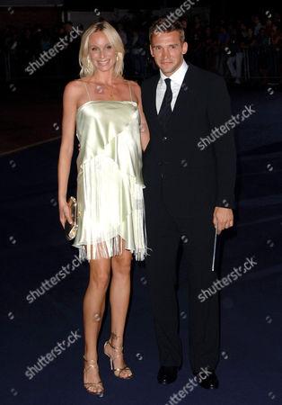 Kristen Pazik and Andriy Shevchenko