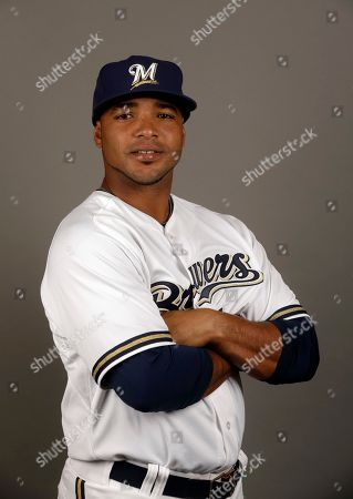 Luis Jimenez This is a 2015 photo of Milwaukee Brewers' Luis Jimenez. This image reflects the Brewers' active roster as of, when the photo was taken in Phoenix