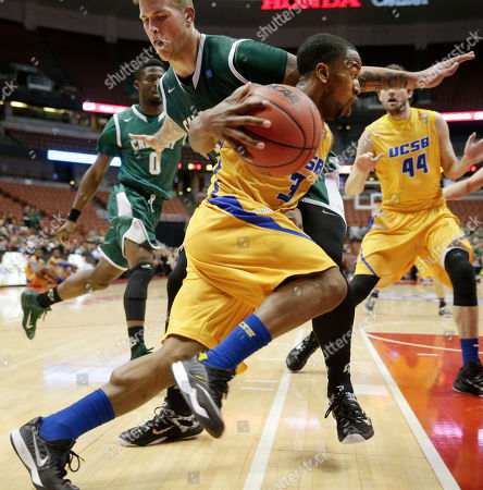 Editorial photo of BWest Cal Poly UC Santa Barbara Basketball, Anaheim, USA