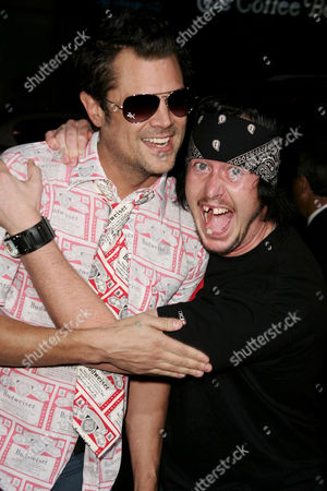 Johnny Knoxville and Ehren McGhehey