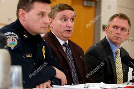 Danny Shaha, John Gardner, Matt Wilson Danny Shaha, senior director of the Penn State Office of Student Conduct, right, and Matt Wilson, State College, Pa., police, left, listen as John Gardner, State College, Pa., assistant police chief, center, comments during a news conference regarding the Kappa Delta Rho fraternity house at Penn State in State College, Pa., on . Kappa Delta Rho fraternity members are being investigated by State College police and the university for allegedly using two secret Facebook pages to post photos of nude females, some of whom appeared to be sleeping or passed out, as well as posts relating to hazing or drug deals