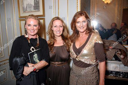 Isabella Klausnitzer, Diana Picasso and Francesca Hasburg