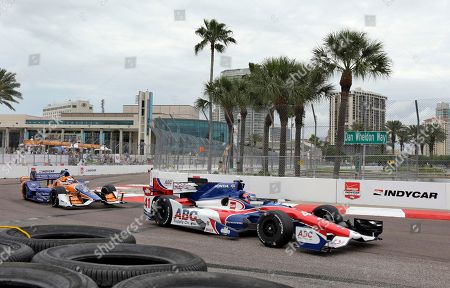 Editorial picture of IndyCar St Petersburg Auto Racing, St. Petersburg, USA