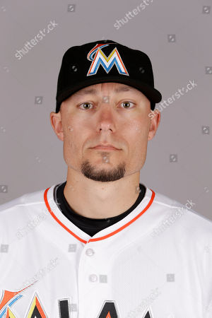 Jeff Baker This is a 2015 photo of Jeff Baker of the Miami Marlins baseball team. This image reflects the Marlins active roster as of, when this image was taken