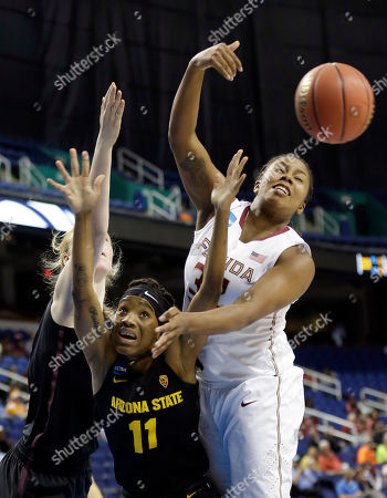 Editorial picture of NCAA Florida State Arizona State Basketball, Greensboro, USA