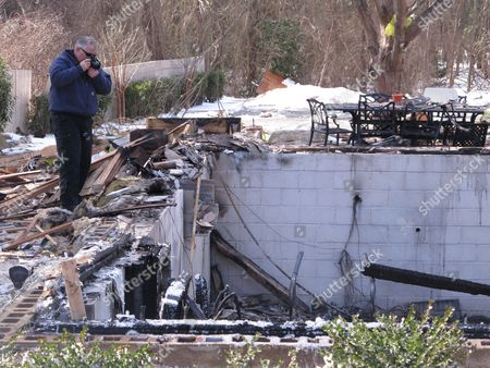 Editorial picture of New Jersey Gas Explosion, Stafford Township, USA