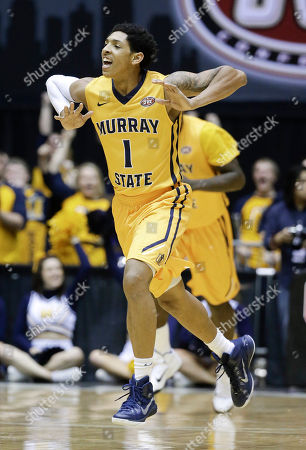 Cameron Payne Murray State guard Cameron Payne celebrates after making a basket against Belmont during the second half of an NCAA college basketball game in the final of the Ohio Valley Conference tournament, in Nashville, Tenn. Belmont won 88-87