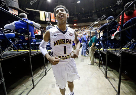 Cameron Payne Murray State guard Cameron Payne leaves the court after Murray State defeated Morehead State 80-77 in an NCAA college basketball game in the semifinals of the Ohio Valley Conference tournament, in Nashville, Tenn