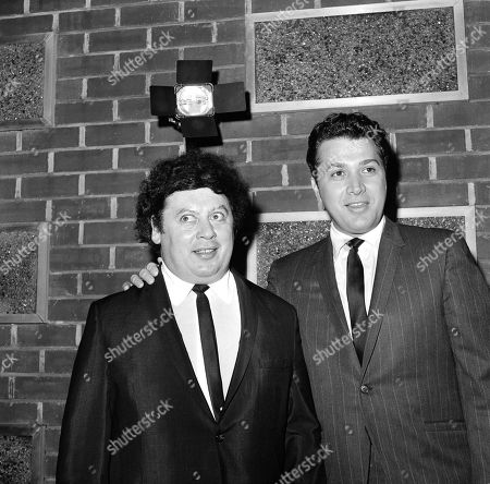 Marty Allen, Steve Rossi The comedy team of Marty Allen, left, and Steve Rossi, now making their first film on the Paramount lot in Los Angeles. Allen celebrates his 93rd birthday on