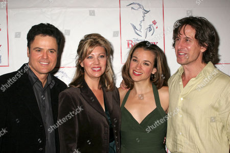 Editorial picture of Opening night party for Donny Osmond's return to the 'Beauty and the Beast' musical, New York, America - 24 Sep 2006