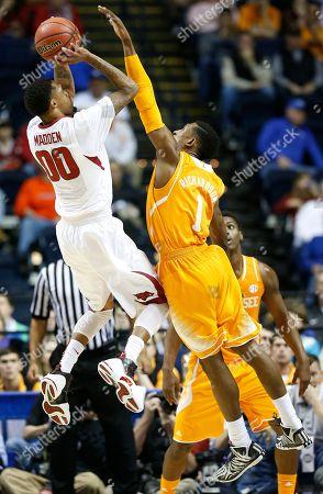 Editorial image of SEC Tennessee Arkansas Basketball, Nashville, USA
