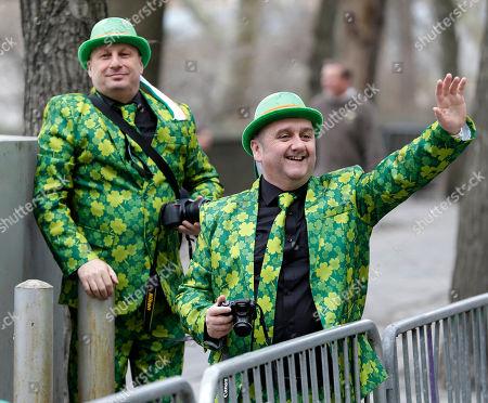 Editorial photo of St. Patricks Day Parade, New York, USA