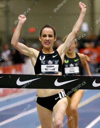 Shannon Rowbury Shannon Rowbury wins the women's 2-mile run during the U.S. indoor track and field championships in Boston