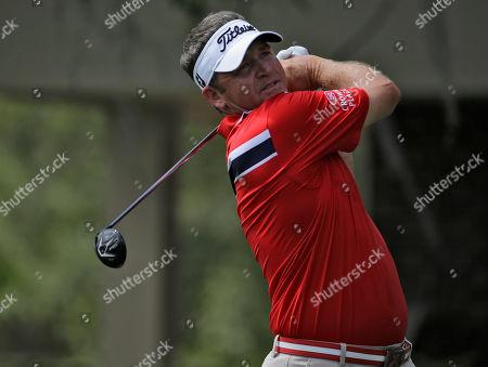 Jason Bohn during the third round of the Valspar Championship golf tournament, at Innisbrook in Palm Harbor, Fla