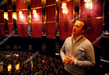 Stock Picture of Hakkasan Group CEO Neil Moffitt speaks during an interview at the Omnia nightclub at Caesars Palace in Las Vegas. The nightclub is scheduled to open this week