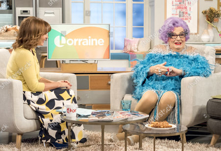 Lorraine Kelly and Dame Edna Everage