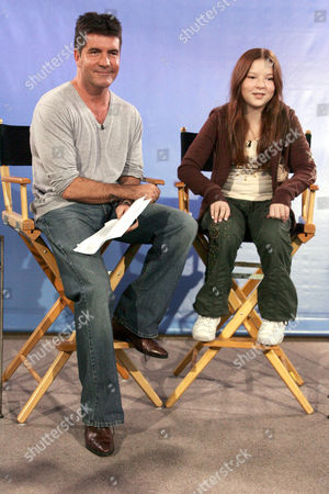 Simon Cowell and Bianca Ryan