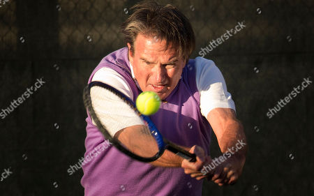 Jimmy Connors, Aaron Krickstein Jimmy Connors returns the ball to Aaron Krickstein in Boca Raton, Fla., . Connors played in a private exhibition against Aaron Krickstein, his opponent in a memorable match at the U.S. Open more than 23 years ago