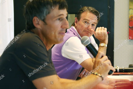 Jimmy Connors Jimmy Connors, right, listens as Aaron Krickstein discusses their match during a press conference in Boca Raton, Fla., . Connors changed tennis' country-club image, but he is back in a genteel, exclusive setting Tuesday for a private exhibition against Krickstein, his opponent in a memorable match at the U.S. Open more than 23 years ago