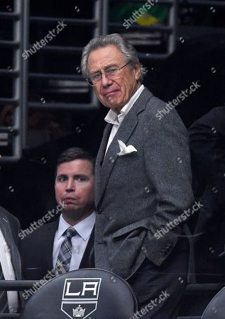 Philip Anschutz Anschutz Entertainment Group (AEG) founder Philip Anschutz watches during the first period of an NHL hockey game between the Los Angeles Kings and the New Jersey Devils, in Los Angeles