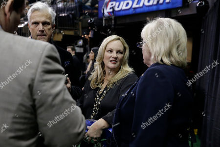 Patty Hearst Patty Hearst, center, is seen ring side at the Westminster Kennel Club dog show, at Madison Square Garden in New York. Famed and infamous heiress Patty Hearst was back in the news Monday after a dog she co-owns won its group at the Westminster Kennel Club show