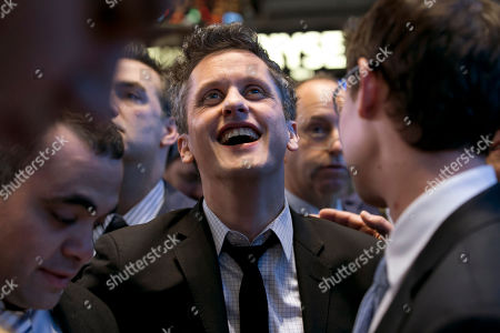 Aaron Levie Box, Inc. Chairman, CEO & co-founder Aaron Levie waits for his company's IPO on the floor of the New York Stock Exchange, . Box Inc. shares soared 56 percent in their stock market debut, after the online storage provider raised $175 million in its initial public offering