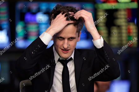 Aaron Levie Box, Inc. Chairman, CEO & co-founder Aaron Levie runs his fingers through his hair before an interview on the floor of the New York Stock Exchange, . Box Inc. shares soared 56 percent in their stock market debut, after the online storage provider raised $175 million in its initial public offering
