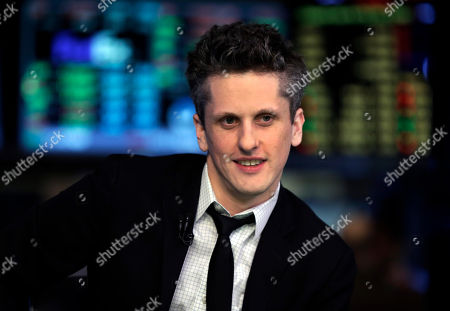 Stock Picture of Aaron Levie Box, Inc. Chairman, CEO & co-founder Aaron Levie is interviewed on the floor of the New York Stock Exchange, . Box Inc. shares soared 56 percent in their stock market debut, after the online storage provider raised $175 million in its initial public offering