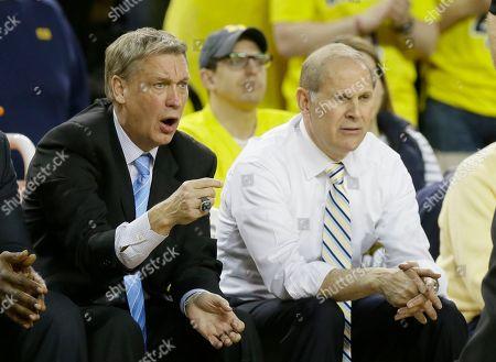 Editorial picture of Minnesota Michigan Basketball, Ann Arbor, USA