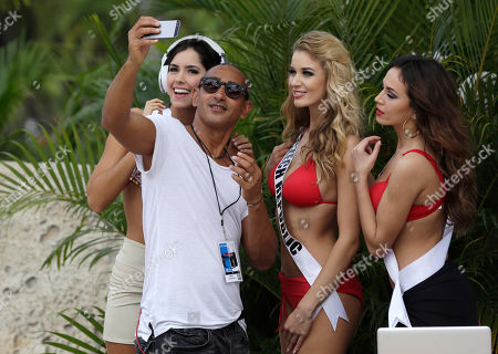 Editorial picture of Miss Universe, Doral, USA