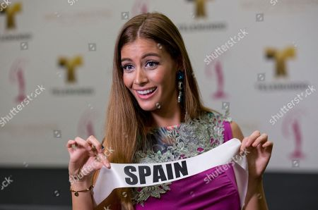 Desire Cordero Miss Universe contestant Desire Cordero of Spain, poses for a photo after a news conference for contestants from Latin America and Spain, in Doral, Fla. The Miss Universe pageant will be held Jan. 25, in Miami