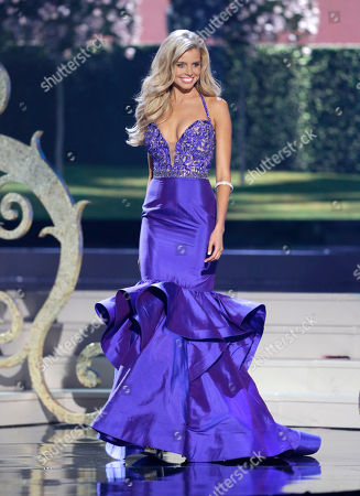 Stock Picture of Tegan Martin Miss Australia Tegan Martin poses during the Miss Universe pageant in Miami