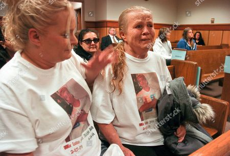 Stock Photo of Julie Ramirez, Betty Ramirez Julie Ramirez, left, consoles her mother, Betty Ramirez during a court inquest into the police shooting of Richard Ramirez in Billings, Mont. on . The unarmed man killed by Billings Police Officer Grant Morrison during a traffic stop was told repeatedly to raise his hands before Morrison shot him three times, according to video footage. The jury will decide if the shooting was justified as part of a mandatory inquest into the shooting