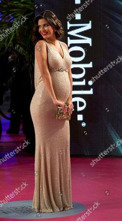 Ana Patricia Gamez Ana Patricia Gamez walks the red carpet before the Premio Lo Nuestro Latin Music Awards show in Miami