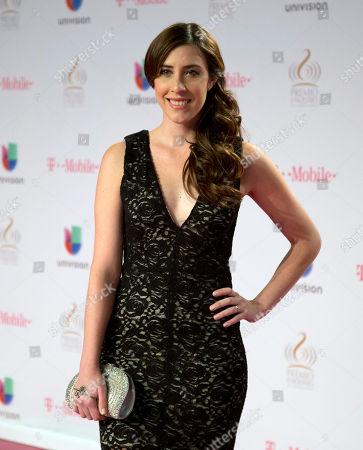 Mariana vega Mariana Vega walks the red carpet before the Premio Lo Nuestro Latin Music Awards show in Miami