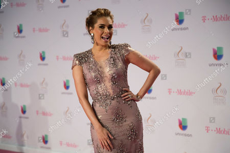 Galilea Montijo Galilea Montijo walks the red carpet before the Premio Lo Nuestro awards show in Miami