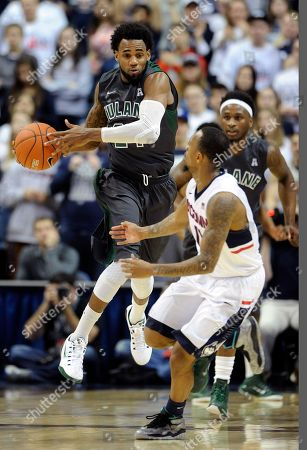 Ryan Boatright, Jay Hook Connecticut's Ryan Boatright, right, guards Tulane's Jay Hook, left, during the first half of an NCAA college basketball game, in Storrs, Conn